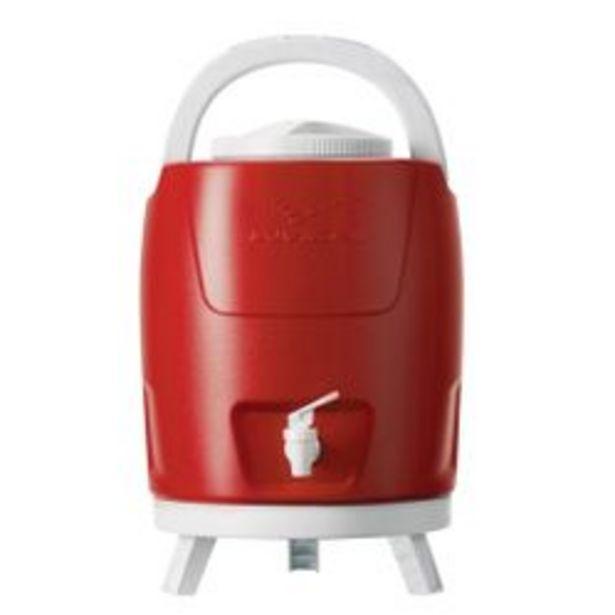 Oferta de Bidon Plastico con Canilla y Patas 9 Lts Rojo 1090501 por $4539