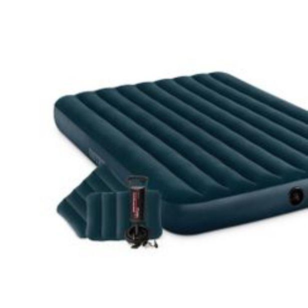Oferta de Colchon Inflable Intex Grande Set 2 Almohadas con Inflador 152 x 203 x 25 por $6858
