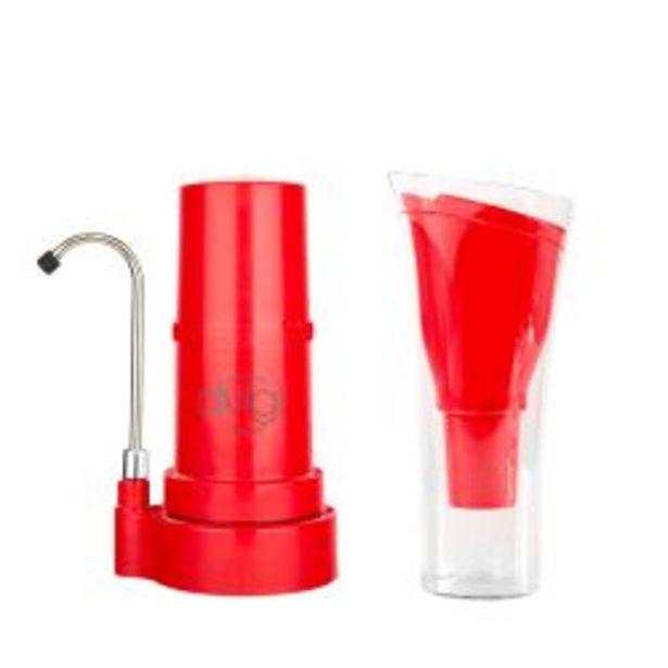 Oferta de Purificador de Agua sobre Mesada Dvigi Roja mas Jarra Sense Roja por $11829