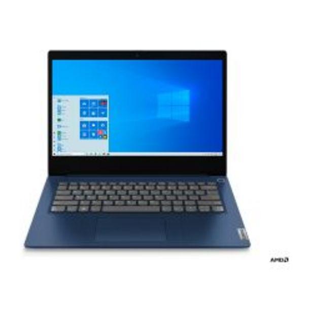 """Oferta de Notebook Lenovo 14"""" AMD Ryzen 3 4GB 256GB IP-3 81W000MU por $72999"""