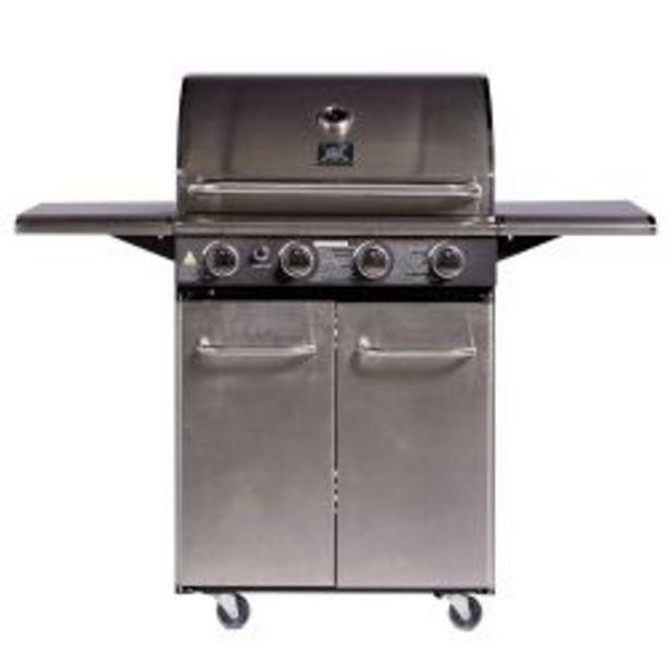 Oferta de Parrilla a Gas BBQ Patagonia Q4 Acero inoxidable por $139999