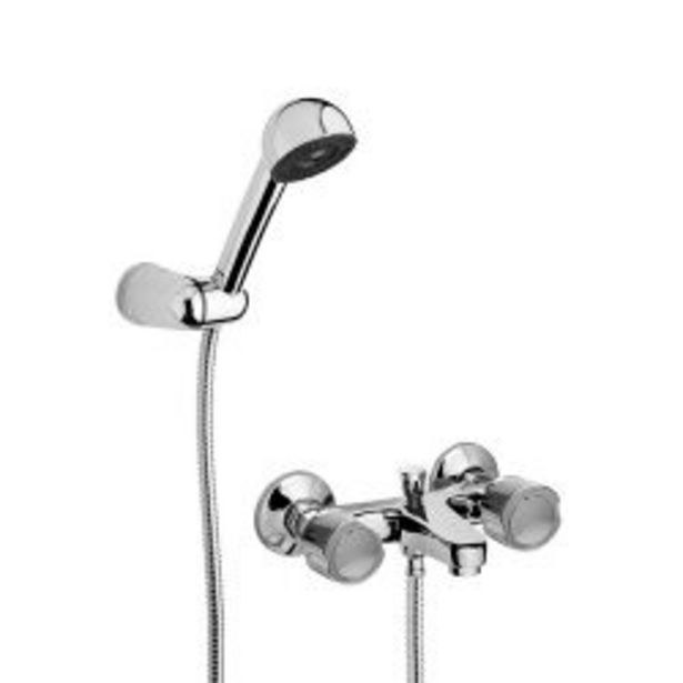 Oferta de Griferia para ducha con transferencia de exterior Hydros Viva Cromo por $5165