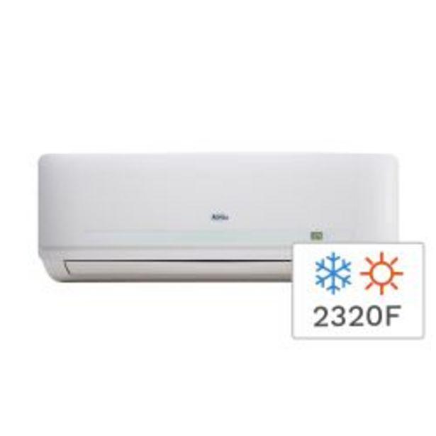Oferta de Aire Acondicionado Split Frío/Calor Alaska 2700W 2320F ALS26WCCR por $43999