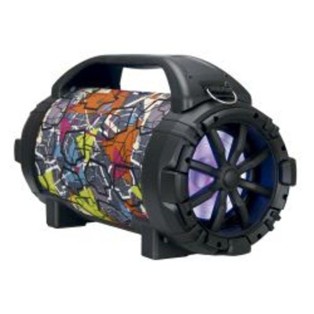 Oferta de Parlante Portátil Winco W215 Bluetooth Multicolor por $8299