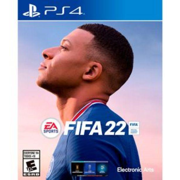 Oferta de Juego PS4 EA Sports FIFA 2022 por $14999