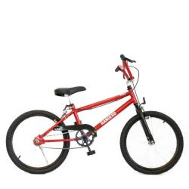 Oferta de Bicicleta Infantil BMX Randers Rodado 20 Asiento Rojo por $32999