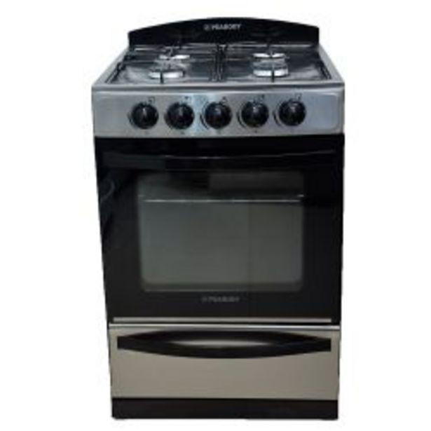 Oferta de Cocina Peabody Multigas 56cm Acero Inoxidable por $26999