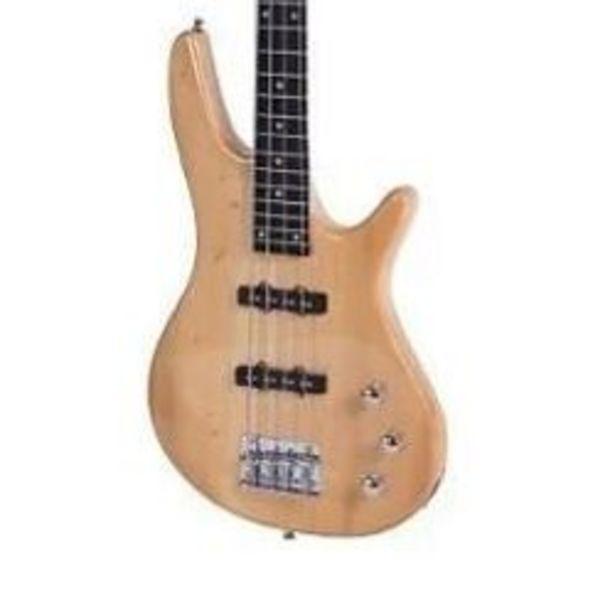 Oferta de Bajo Electrico Parquer Jazz Bass Color Natural con Funda por $21949,94