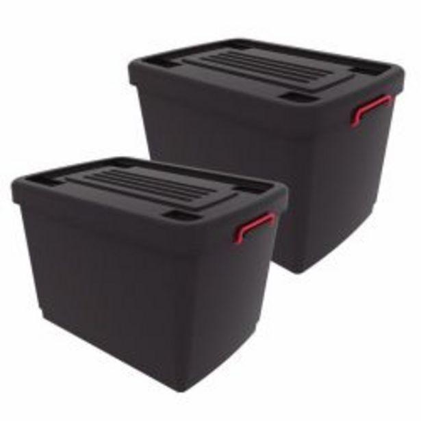 Oferta de Combo de 2 Cajas Organizadoras Heavy Box por $3359