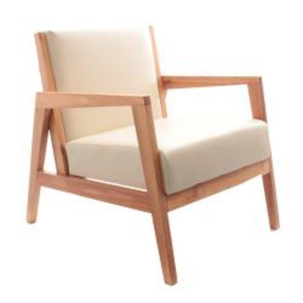 Oferta de Sillón Nórdico American Wood Paraiso Marfil por $16990