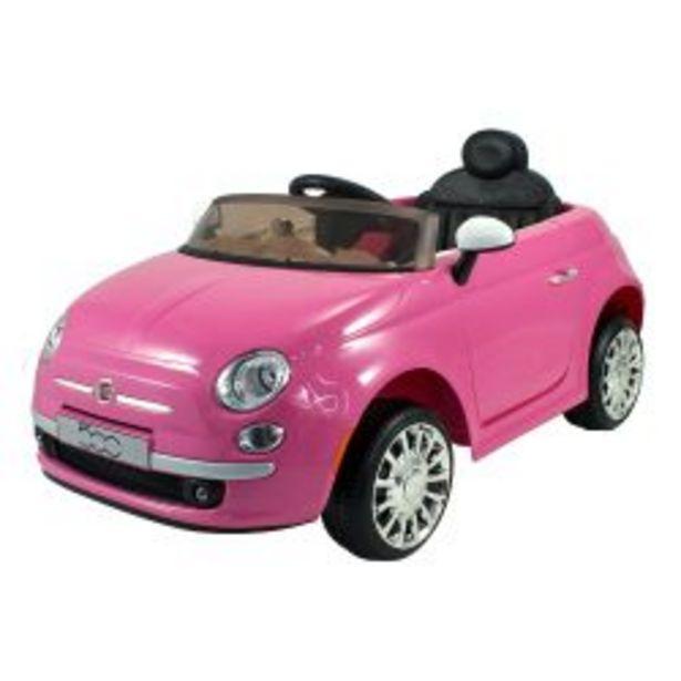 Oferta de Auto a Batería Bebitos Fiat 500 Rosa por $34999