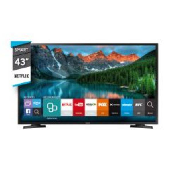 """Oferta de Smart TV 43"""" Full HD Samsung UN43J5290AGC por $41999"""