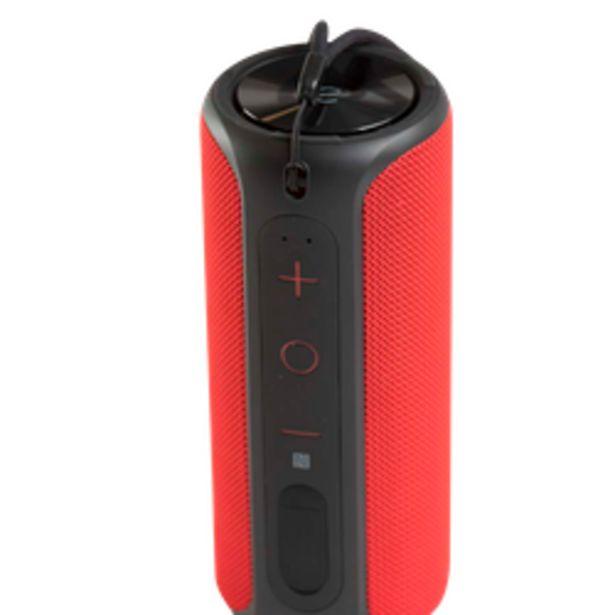 Oferta de Parlante bluetooth eNova Stereo Rojo por $4199
