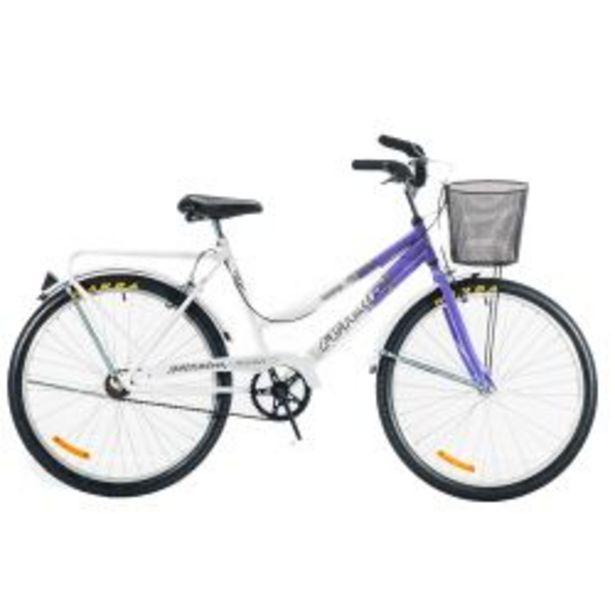 """Oferta de Bicicleta Rodado 26"""" Futura Country Violeta por $27999"""