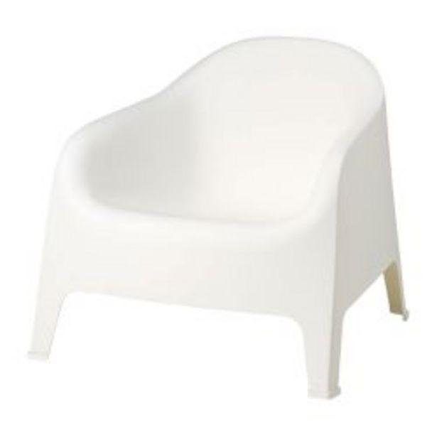 Oferta de Banco de Jardin Garden Life Skarpo Color Blanco por $5999