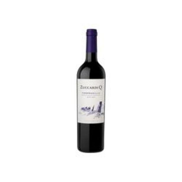 Oferta de Vino Tinto Zuccardi Q Tempranillo 750cc x 6 por $8399
