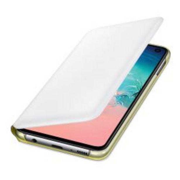 Oferta de Funda Samsung LED View Cover S10e White por $3199