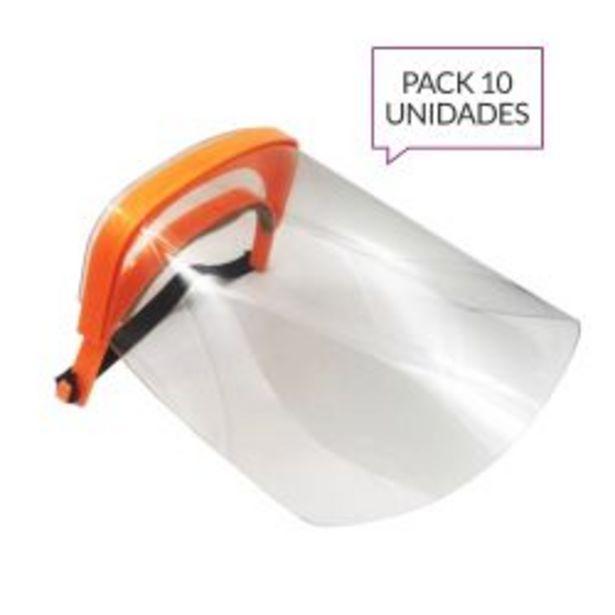 Oferta de Máscara Protectora Facial Tivoli Pack x 10 Unidades por $1990