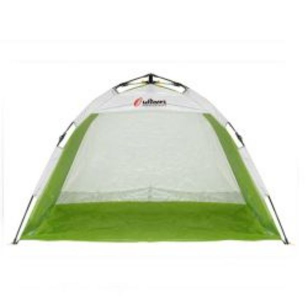 Oferta de Carpa Playera Autoarmable 2 Personas Outdoors 9001 Beach Summer Verde por $4550