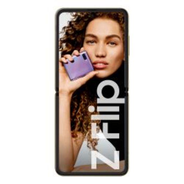 Oferta de Celular Libre Samsung Z Flip Dorado por $97999
