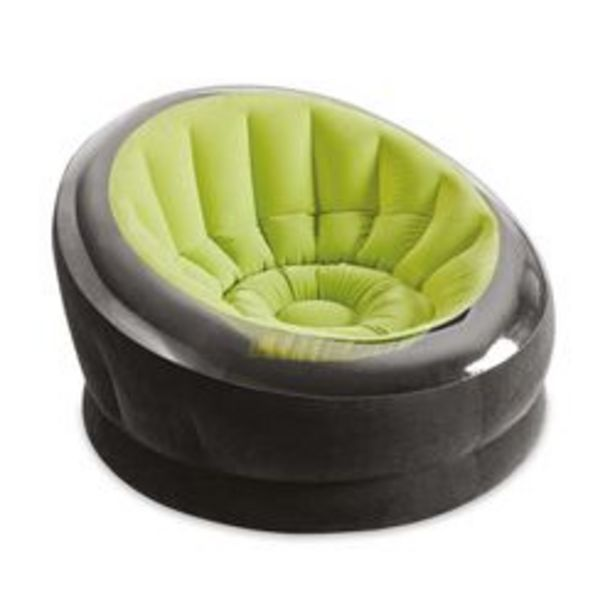 Oferta de Sillon Inflable Intex Empire Verde por $5450