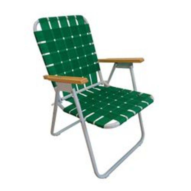 Oferta de Reposera 1 Posicion Verde por $3420