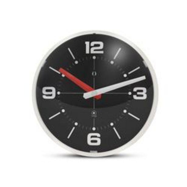 Oferta de Reloj de Pared Semi Esfera Gato Negro y Marfil por $3619
