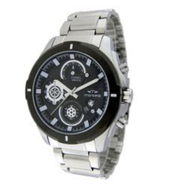 Oferta de Reloj de caballero Montreal MBT585NE por $4185,4