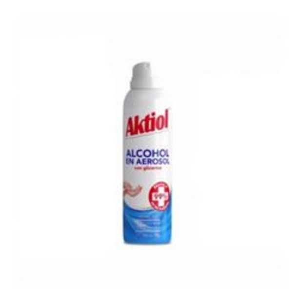 Oferta de Alcohol en aerosol Aktiol 143 ml por $400