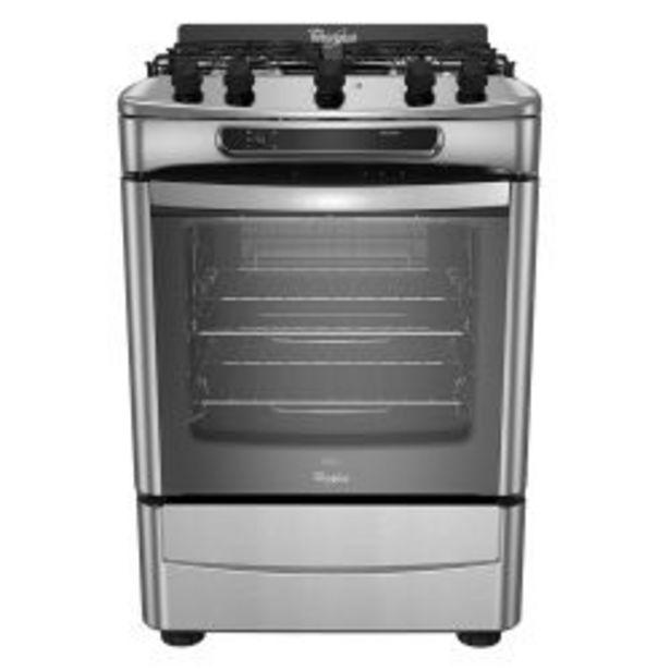 Oferta de Cocina Whirlpool Multigas WF360XG 60cm Inox por $85399