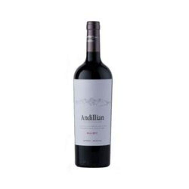 Oferta de Vino Andillian Malbec Lujan de Cuyo x6 por $3249
