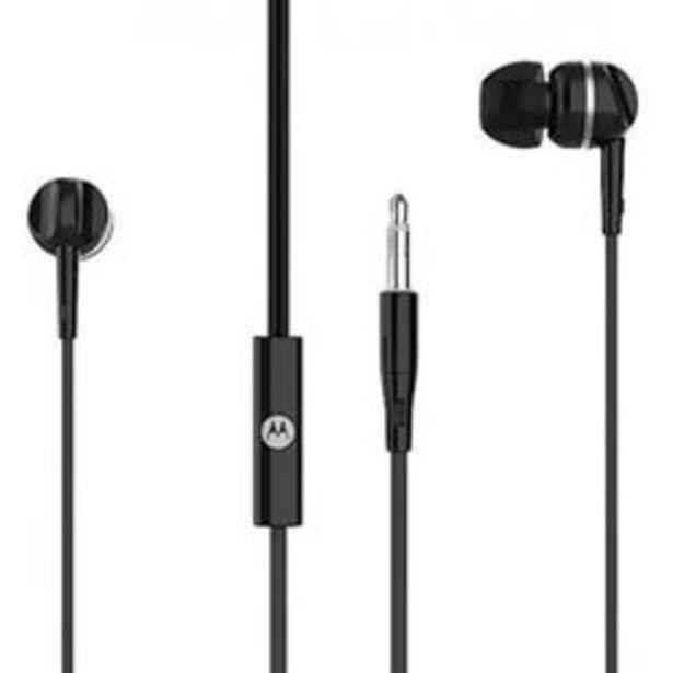 Oferta de Auriculare Motorola In Ear Pace 105 Manos Libres Con Microfono Negro por $612