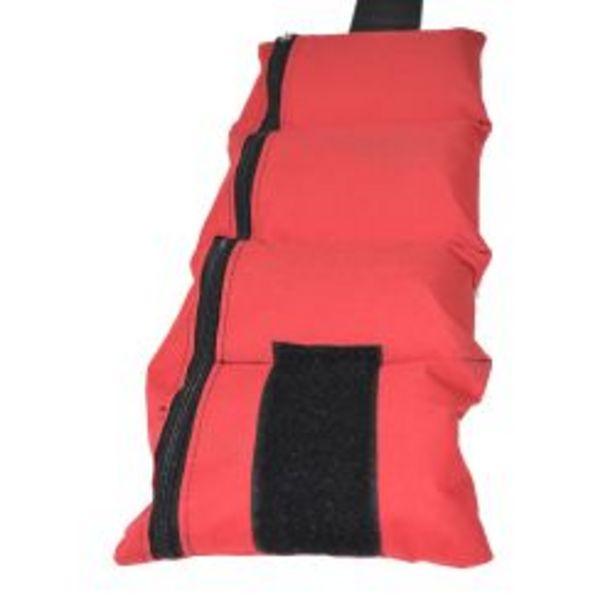 Oferta de Kit de tobilleras AllySport de 1 kg rojo por $899