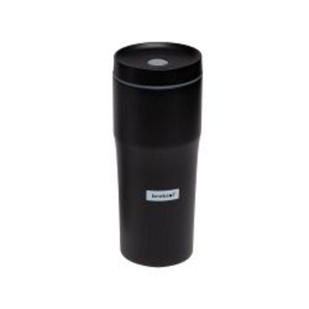 Oferta de Vaso Termico Acero Inoxidable Negro Broksol 480Ml por $2190