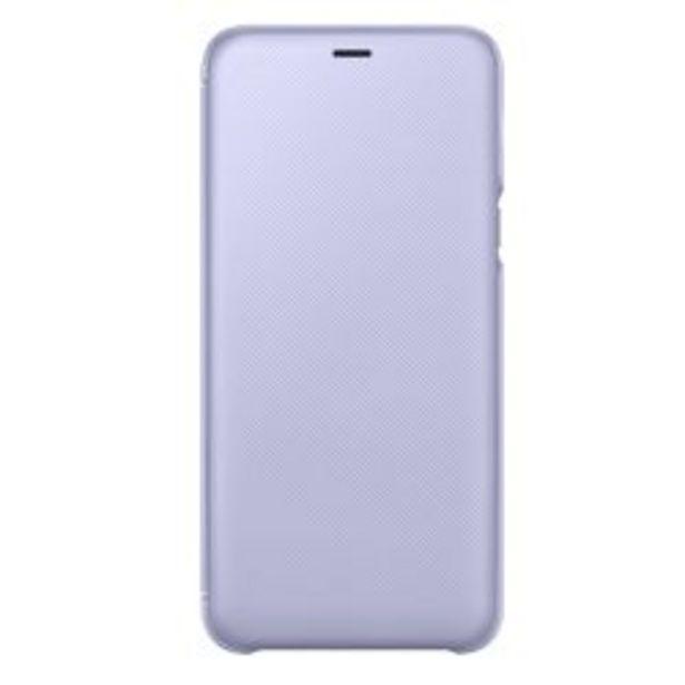 Oferta de Funda Samsung Wallet Cover A6+ Violet por $1119