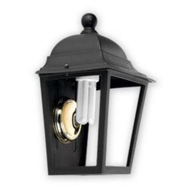 Oferta de Farol cuatro caras abierto techo desmontable de aplicar Faroluz Negro por $1259