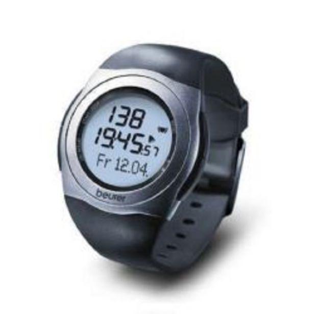 Oferta de Reloj Pulsometro de Frecuencia Cardíaca + Banda Beurer Pm 25 por $4265