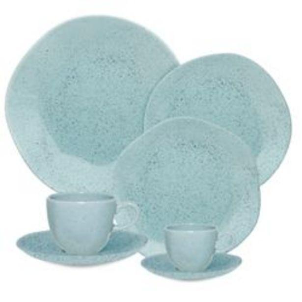 Oferta de Juego de platos en baúl de 42 piezas Ryo Blue Bay dec 9507 por $21999