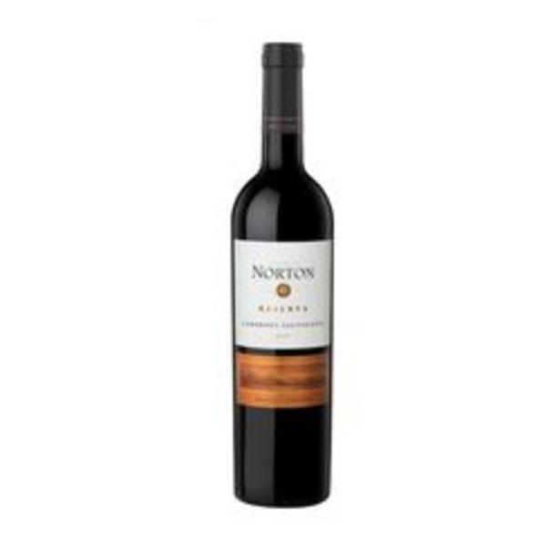 Oferta de Vino Tinto Norton Reserva Cabenet Sauvignon x 6 por $3309
