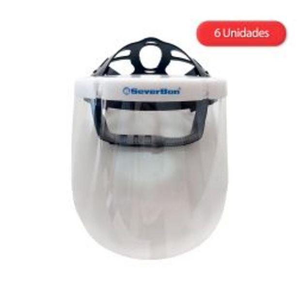 Oferta de Máscara Protectora Facial Sanitaria SV600 por 6 unidades por $3999