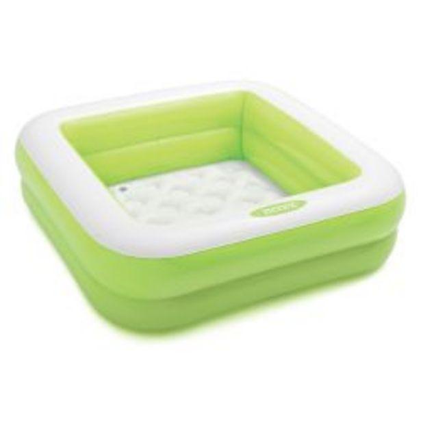 Oferta de Pileta Inflable Intex Play Box Verde por $2669