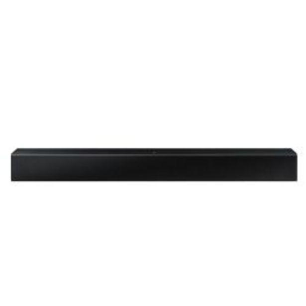 Oferta de Barra de sonido Samsung Soundbar 2ch 40W HW-T400 por $21999
