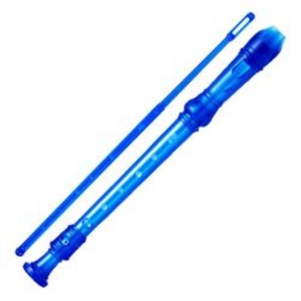 Oferta de Flauta Dulce Parquer Escolar Soprano Digiacion Alemana Color Azul por $360