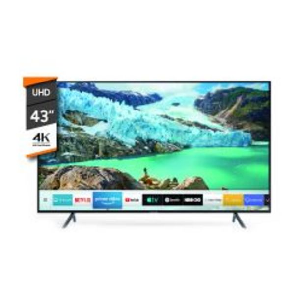 "Oferta de Smart TV 4K UHD Samsung 43"" UN43RU7100 por $46999"