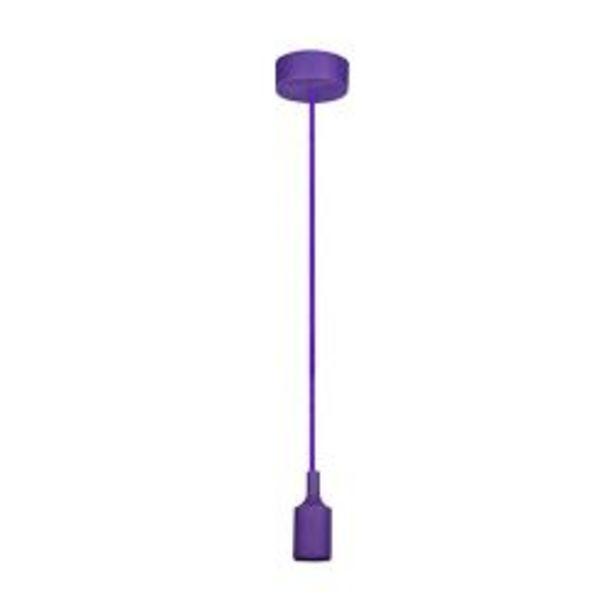 Oferta de Lampara colgante de techo moderna Faroluz 11001 violeta por $715