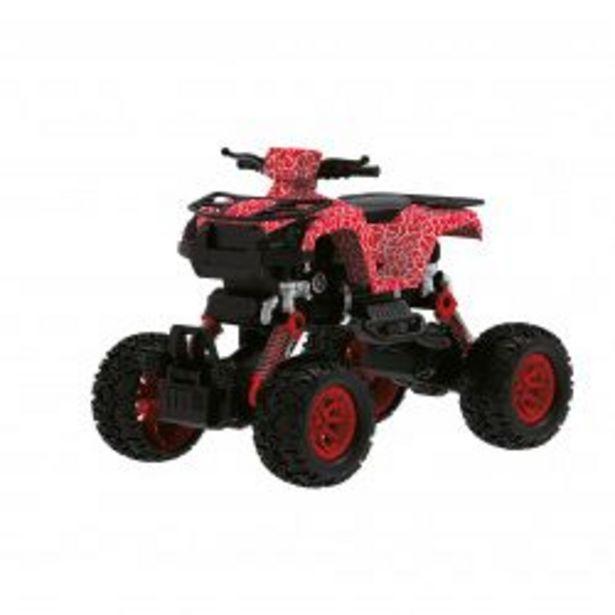Oferta de Autito de Juguete Off-Road Choches a Fricción c/Amortiguacion Explorer Fan 7580 Rojo por $2011