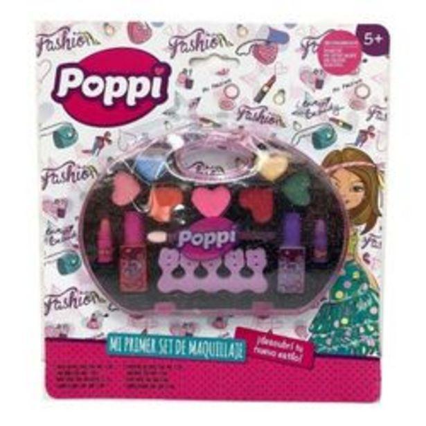 Oferta de Poppi mi primer set de maquillaje 5660 por $999