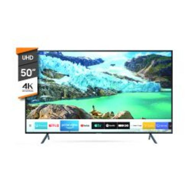 "Oferta de Smart TV 4K UHD Samsung 50"" UN50RU7100 por $58999"