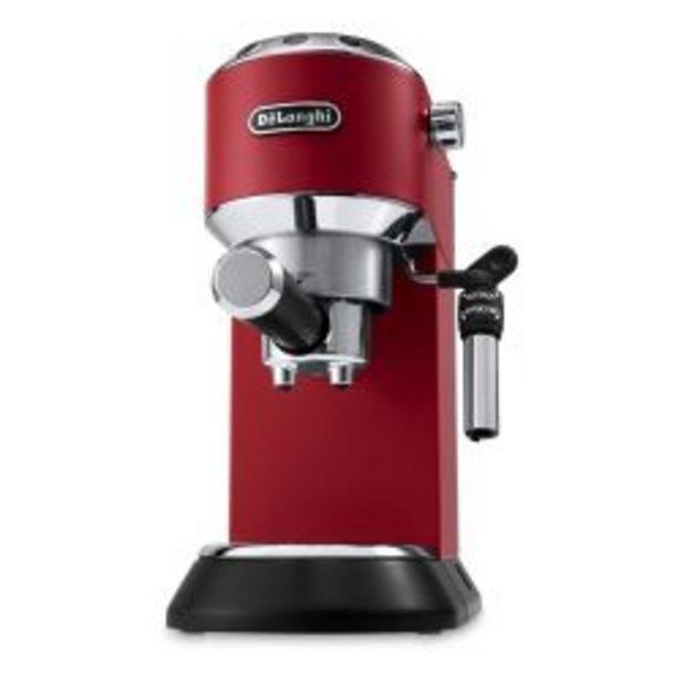 Oferta de Cafetera Express DeLonghi Dedica EC-685 Roja por $64999