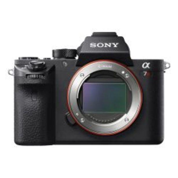 Oferta de Cámara Sony a7R II con Sensor de Imagen Full Frame con Retroiluminacion ILCE7RM2 por $122999